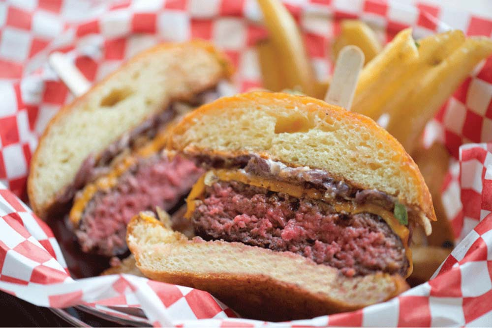 400 degrees burger